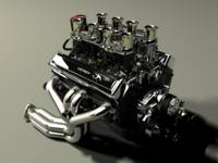 Chevy 327 small block
