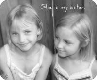 She is my sister