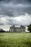 Charlton Park House with brooding sky