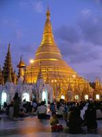 Myanmar - Shwedagon at Sunset