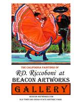 Spanish Dancers Beacon Artworks Gallery Poster