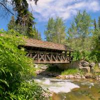 """Vail Covered Bridge"" by jknophotos"