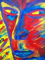 Dead Anger (detail 1 eyes)