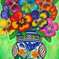 """""""Pansy Parade"""" by LisaLorenz"""
