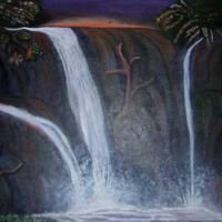 Three Falls Art Prints & Posters by JantaWinters
