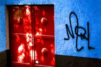 Red Door and Graffiti