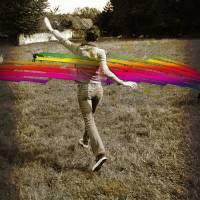 Courir dans les champs Art Prints & Posters by amysphere