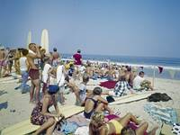 1963 Surfing Competition Virginia Beach, VA
