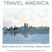 Travel America - Central Park West New York City