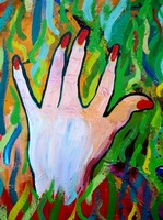 Hands Defy Their Planting (detail 4 left hand)