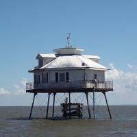 """""""Middle Bay Lighthouse, Mobile Bay"""" by mallseitz"""