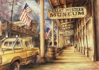 Virginia City Nevada - Fine Art Painting