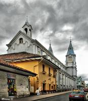 San Alfonso Church, Cuenca Ecuador (Version 2)