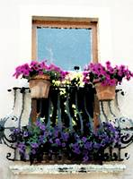 Doorway to Flowers