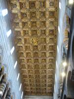 Ceiling of the Pisa Cathedral
