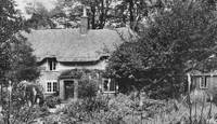 Thomas Hardy's cottage, near Dorchester, England