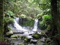 Mt Field National Park waterfall
