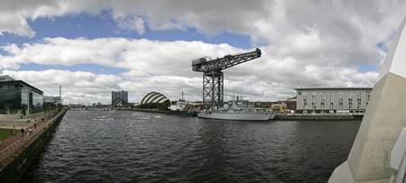 Clyde Panorama from Glasgow Arc