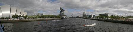 Clyde Panorama from Bells Bridge, Glasgow