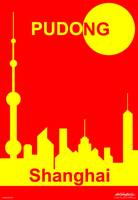Shanghai Sunshine - Text Poster