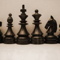 Chess Family Portrait by Eileen Ringwald