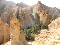 Desert mountain, tunisia