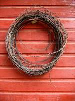 Cattlemen's Christmas Wreath