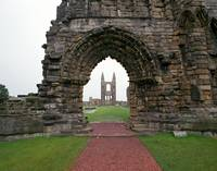 Ruin of St. Andrews Cathedral, Scotland
