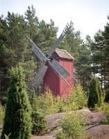 Windmill in Sund, Aland Islands, Finland