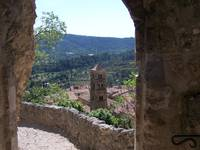 Arched View of Moustiers St Marie