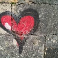 Graffiti: Heart Art Prints & Posters by abraxas35