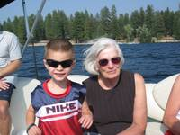 Grandma Arlene and Griffin
