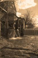 Old Mill Restaurant Sepia