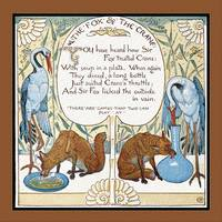 Aesop's Fables - The Fox and the Crane