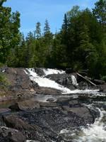 Lower Falls at mouth of Montreal River