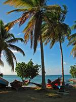 Martinique Island beach