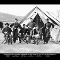"""""""6 Officers of the 17th NY Battery"""" by tomtaberphotos"""