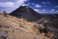 Mount Ngaurahoe, Tongariro Crossing, NZ