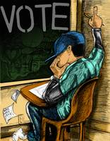 the classroom with vote