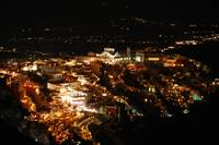 Fira at night