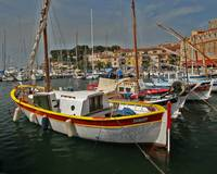 Sanary-Sur-Mer Red Boat