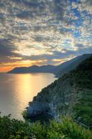 Corniglia Sunset Portrait