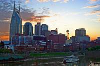 Nashville at Dusk