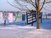quilts&snow