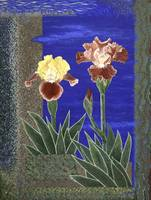 Fine Art Prints Irises Iris Flowers WallArt Garden