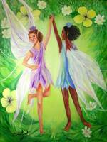 Summer Frolicing Faeries