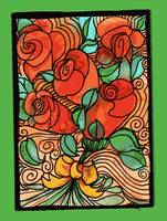 aceo wild roses