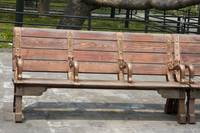 Bench at Forbidden City