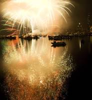 Fireworks on the Charles