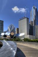Millenium Park view of Chicago